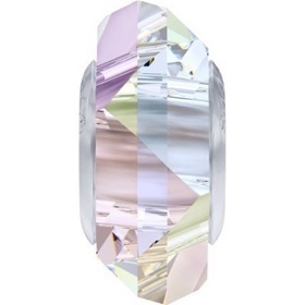 "Swarovski BeCharmed Fortune Charm i farven ""Crystal Aurore Boreale"""