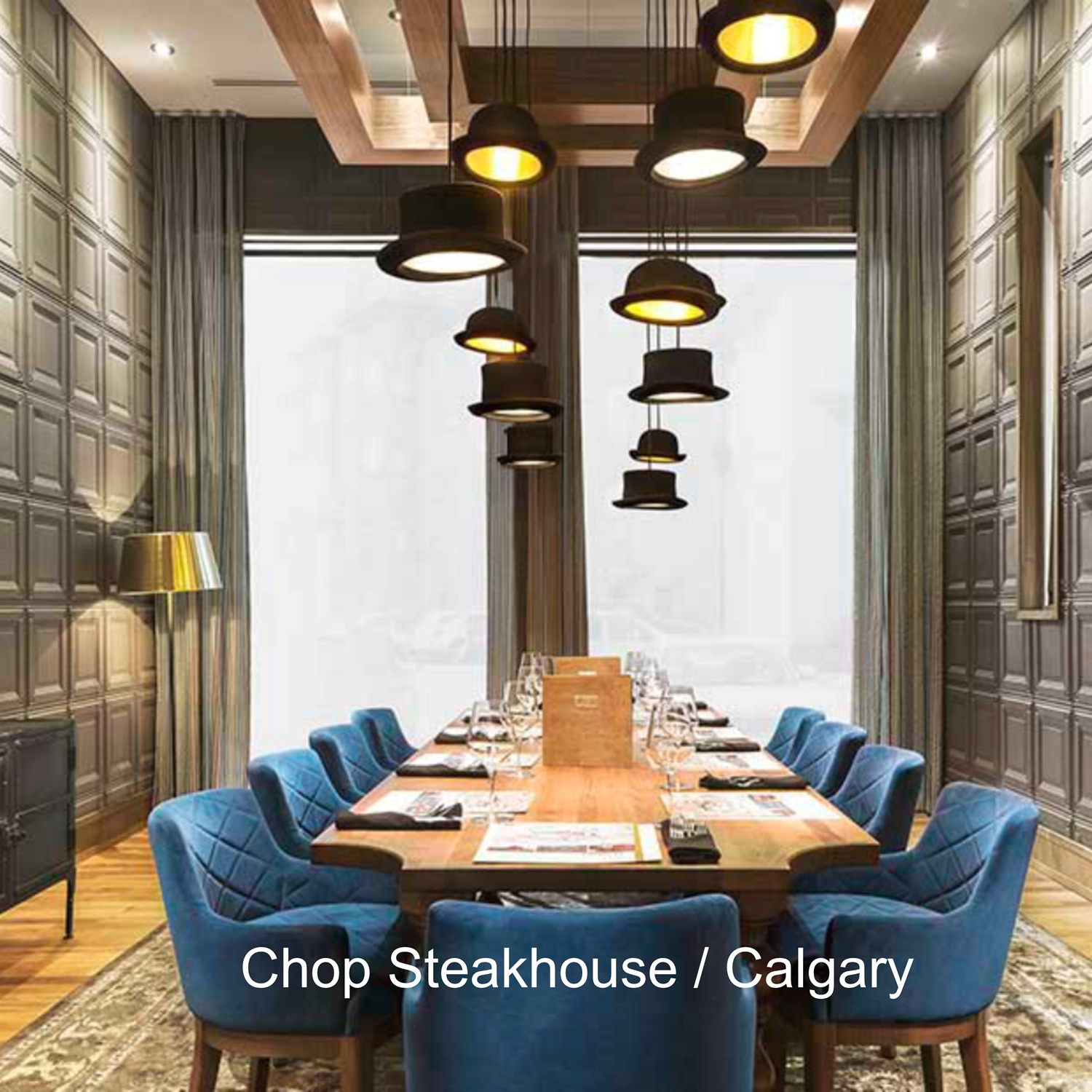 JEEVES & WOOSTER på Chop Steakhouse i Calgary