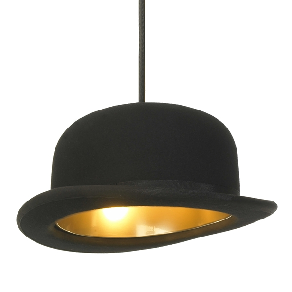 Image of   Jeeves pendel lampe - Bowlerhat